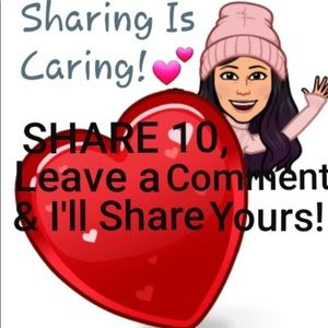 Share for me- I'll share for you 🥰